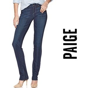 Paige Skyline Straight Jeans Size 27